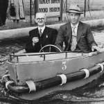 Ant. van den Hout en A. Verhagen gaan in 1950 mee op schoolreis