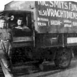 Nic. Smits en G. Provilij op de baan