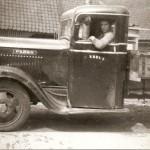 Vrachtwagen van Kreuk
