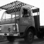 Vrachtwagen van J. de Kok in Heijningen