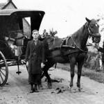 Vervoer per tilbury - Fam. de Vos, Heijningen